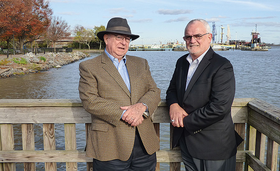 Chairman Ron Lafferty Sr. (left) and President Joe Pro