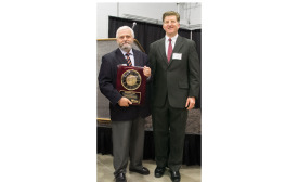 U.S. Boiler's chief engineer of product development, receives an Award of Excellence.