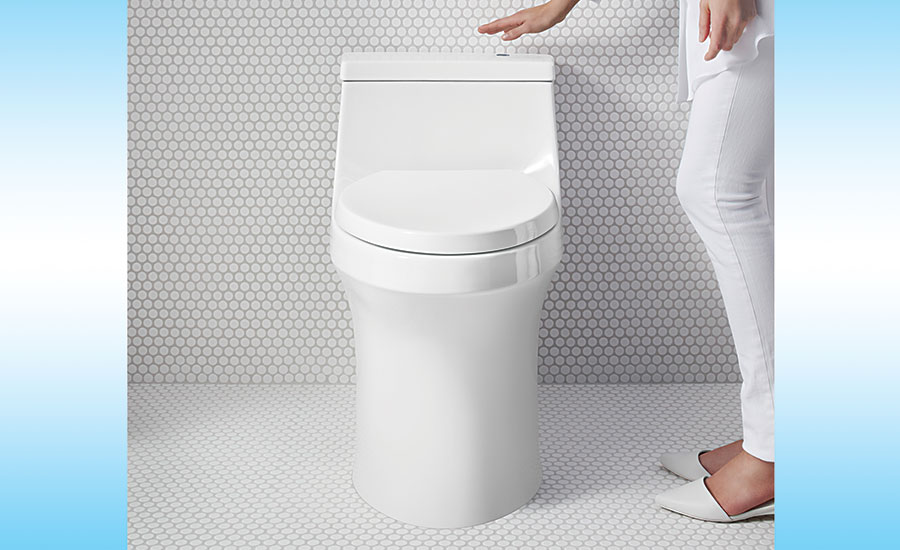 Kohler toilet with touchless flush