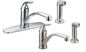 Single-handle faucet