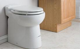 SFA Saniflo compact 1-gpf toilet