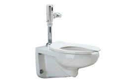 Zurn HE toilet system