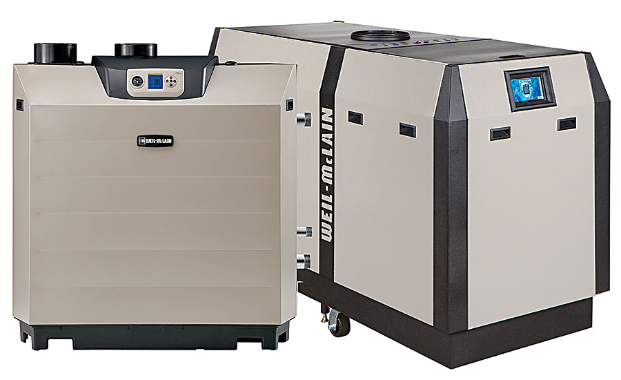 Weil-McLain condensing boilers