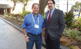 Warren (left) and Howard Frankel at the 2016 Forte
