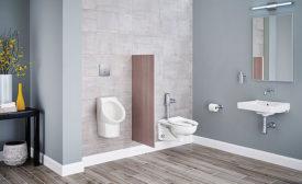 American Standard pint urinal/wall-hung sink