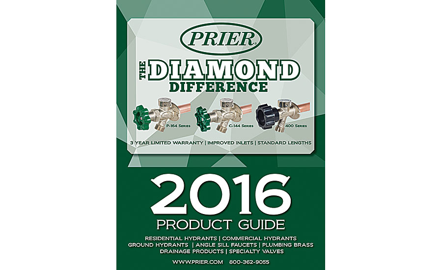 PRIER new product guide