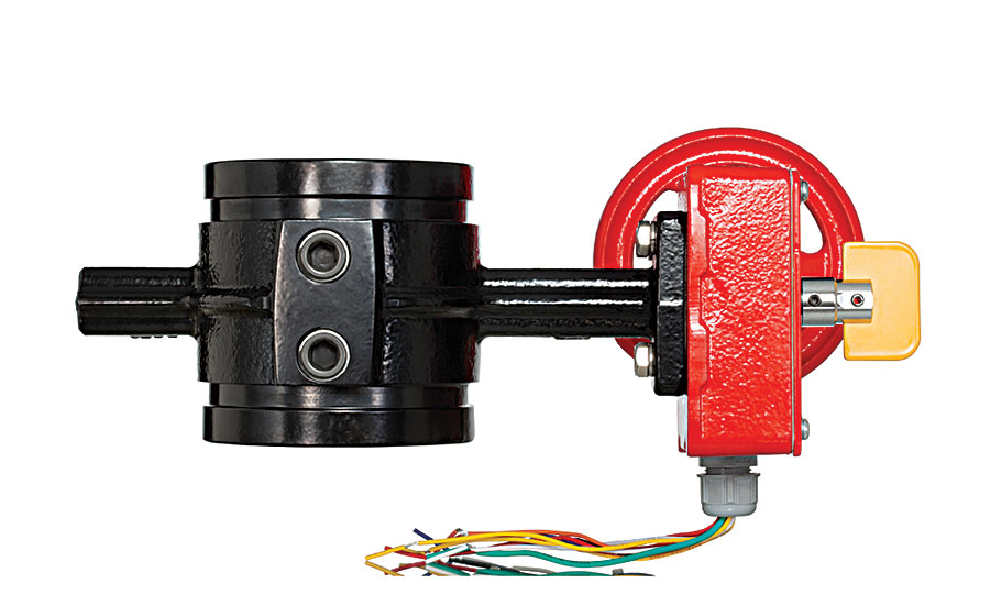Tyco Fire Protection butterfly valve