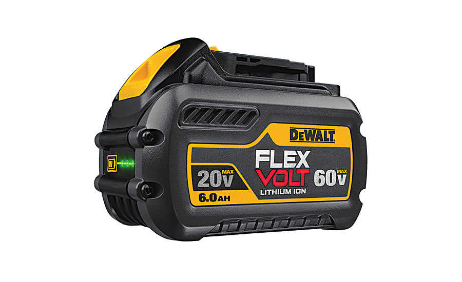 DEWALT new battery line