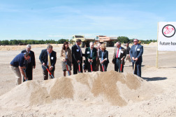 F. W. Webb breaks ground on its new 1-million-sq.-ft. central distribution facility.