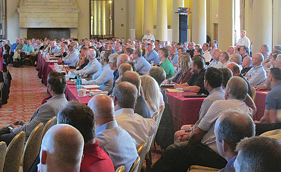 This year's AIM/R conference drew 400 attendees to Coral Gables, Fla. Next year's conference heads to Seattle