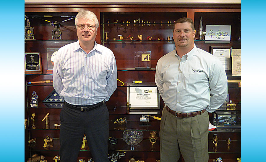 Vice President of Engineering John Higdon, P.E. (left) and Vice President of Product Management and Marketing Tyson Higginbotham are shown at company headquarters
