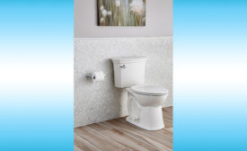 American Standard self-cleaning toilet