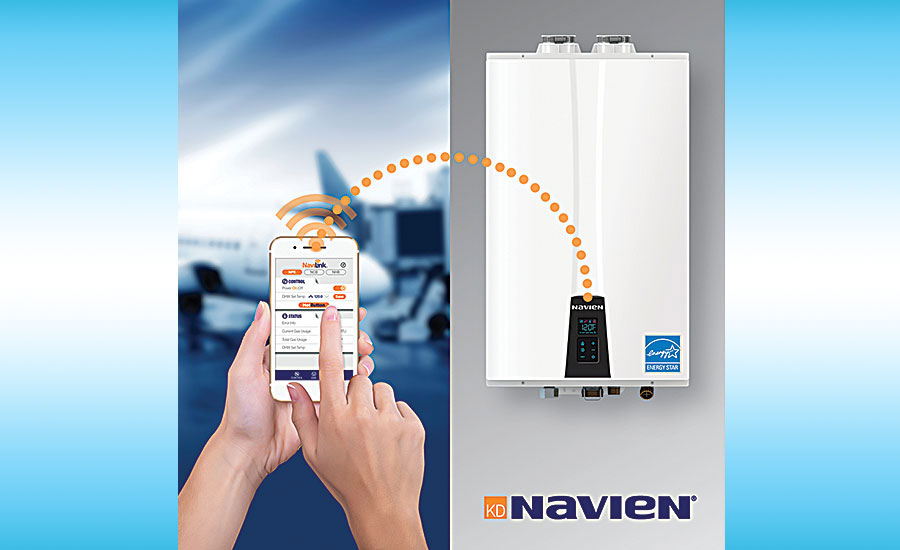 Navien tankless water heater remote access