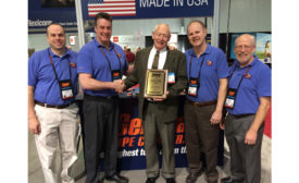 General Pipe Cleaners awarded manufacturers rep Ford Williams the Bob Gelman Lifetime Achievement award Jan. 20, 2016.