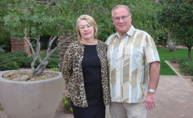 Bob and Linda Hoff of Omni and the Luxury Products Group
