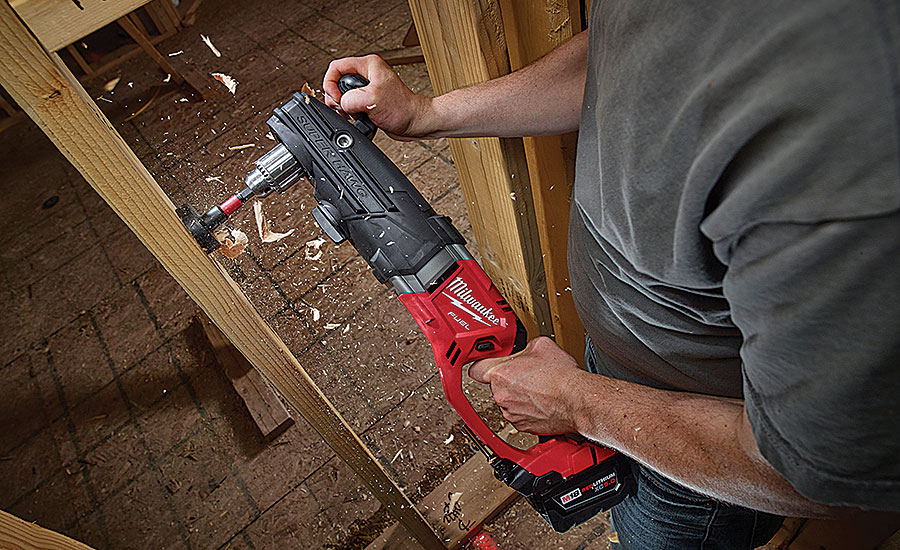 Milwaukee Tool cordless right-angle drill (AHR Expo Preview)