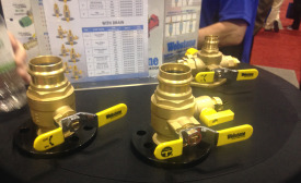 Webstone Valves introduced its new, innovative The Isolator valve at the 2016 AHR Expo in Orlando.