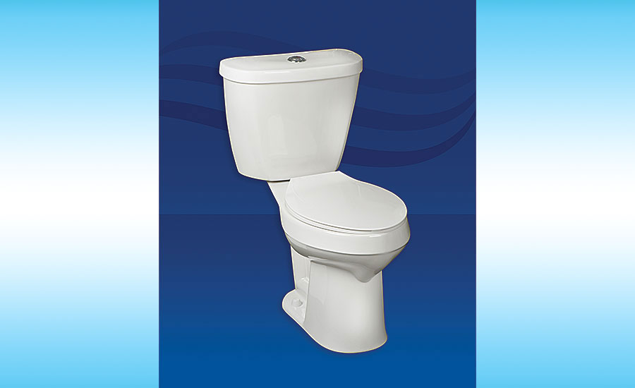 Mansfield Plumbing single-flush toilets