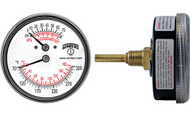 pressure and temperature measurement