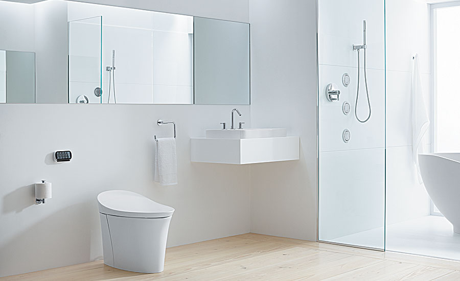 Kohler Veil; toilet, HET, water conservation, bath & kitchen showrooms, PHCP distributors
