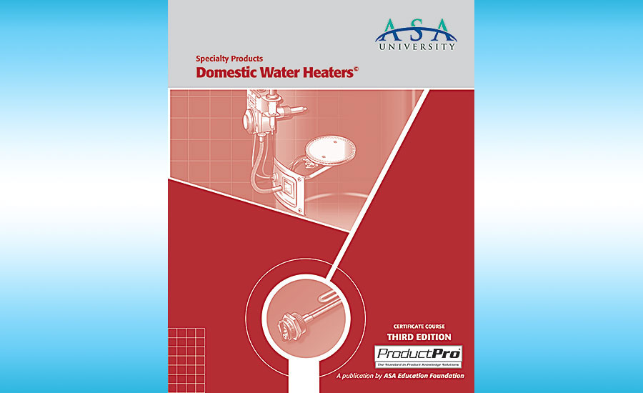 ASA domestic water heaters course