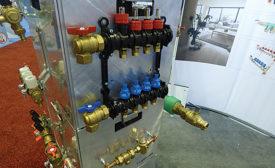 Legend Valve booth; boiler, water heater, Dan Holohan, John Siegenthaler, AHR Expo