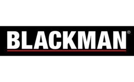 Blackman logo; new Lakewood location