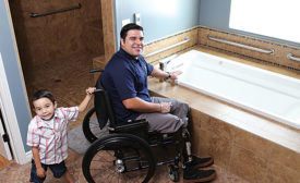 Ferguson and Homes for Our Troops; plumbing news, charity, veterans, construction