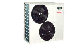 SpacePak air-to-water heat pump