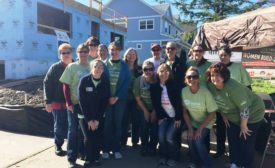 Bradley Corp. participated in Waukesha, Wis.-based Habitat for Humanity's National Women Build Week event.