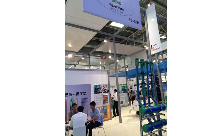 Aquatherm displays its piping systems at ISH China/CIHE in Beijing