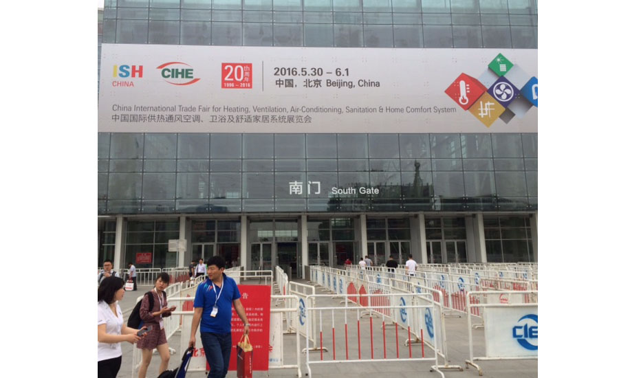 ISH China celebrates its 20th anniversary with its trade show this year in Beijing.