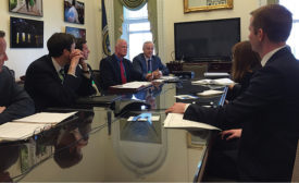 ASA leadership discusses small business with Obama administration