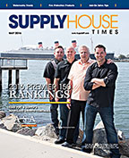 May 2016 Supply House Times cover: 2016 Premier 150 Rankings