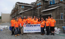 Navien partners with Habitat for Humanity