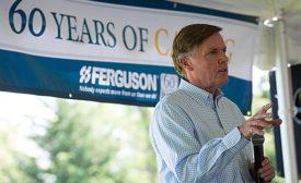 Ferguson CEO Frank Roach