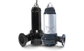 Grundfos wastewater pumps