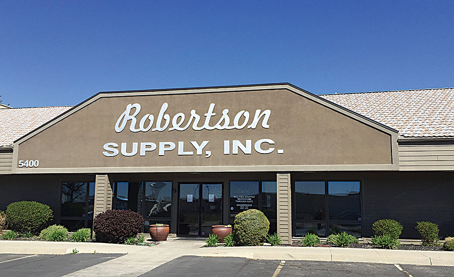 from one location in 1948 to a distributor that today has nine locations and 120 employees.