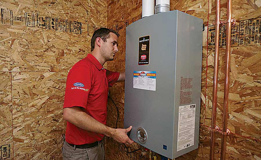 Remote connectivity becomes more prevalent with water heaters 2017 were confident that an uptick in new residential construction will continue to boost demand for new water heating products marketing director carl fandeluxe Images