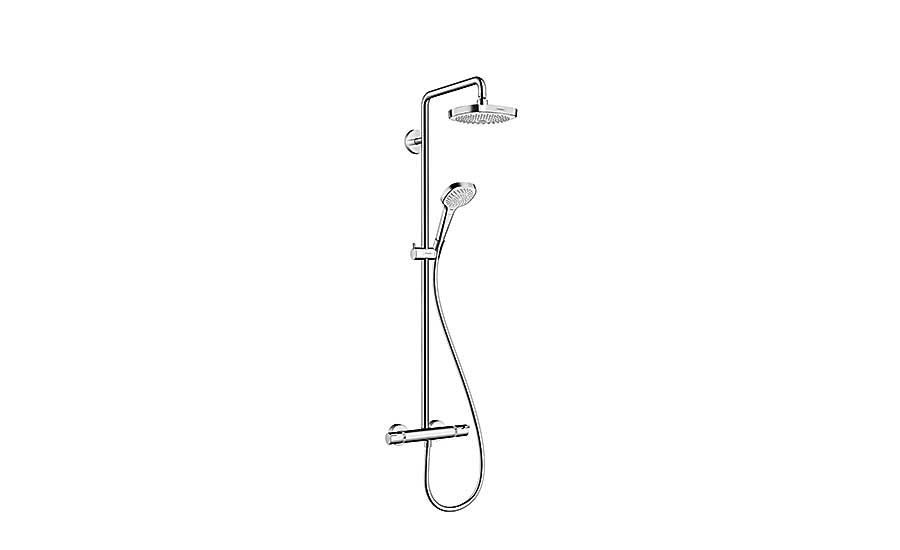 Hansgrohe shower pipe