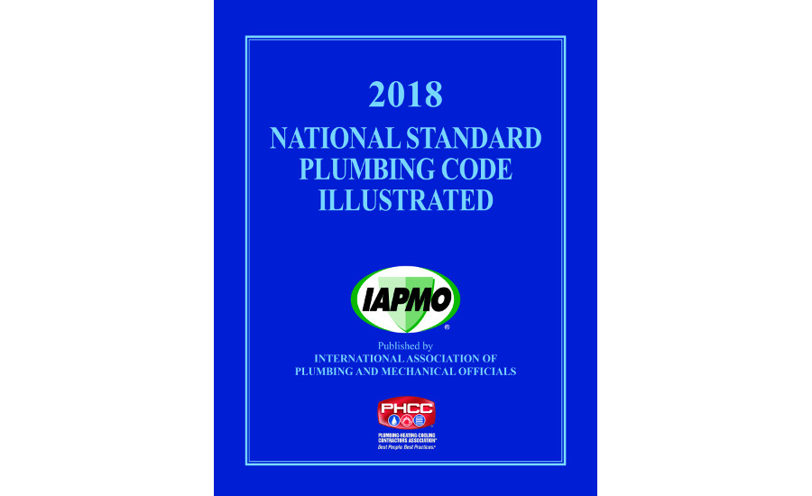 Now available: 2018 National Standard Plumbing Code
