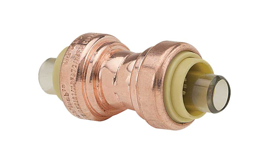 Brasscraft copper push connect fittings