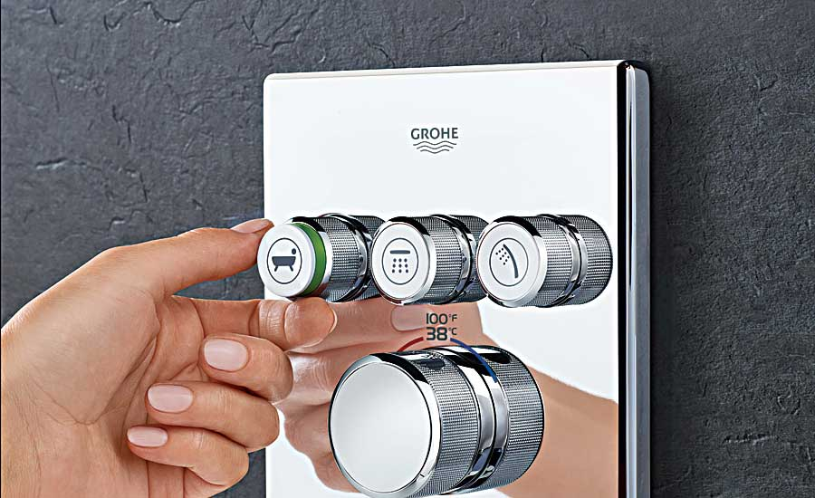 GROHE thermostatic trim