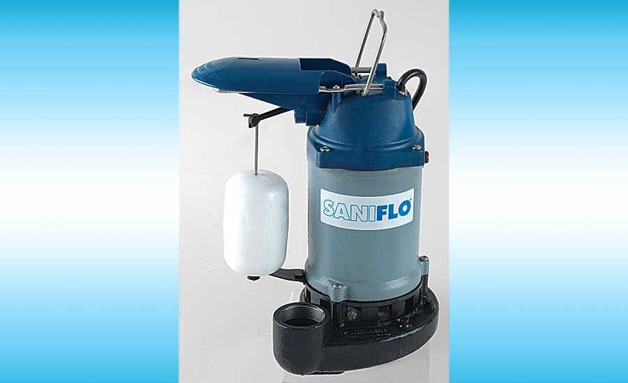 Saniflo sump pump