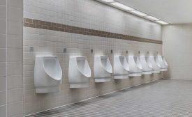 Sloan hybrid retrofit urinal