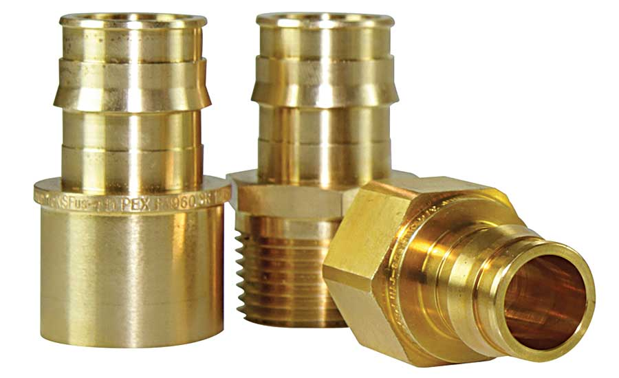 Uponor propex transition fittings supply