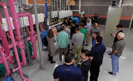 Navien hosted its first-ever trip to the Republic of Korea for its North American customers that included a tour of its manufacturing