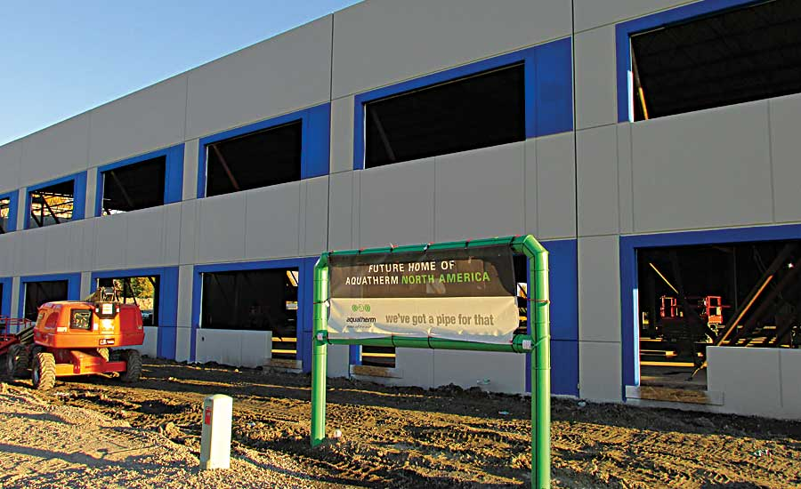Aquatherm North America preparing to move  headquarters
