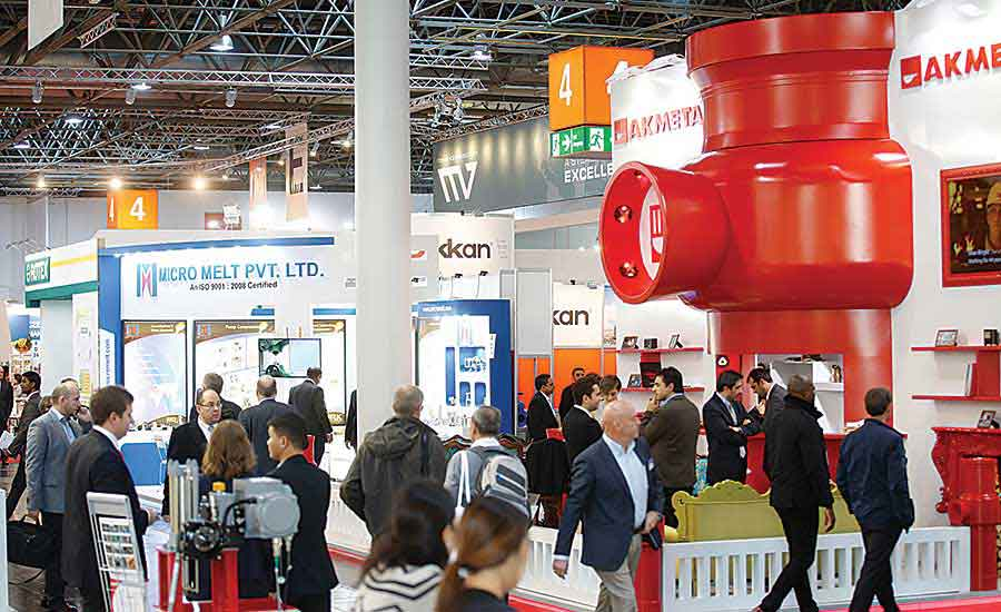 Valve World Expo Dusseldorf featured 725 exhibitors from 40 countries