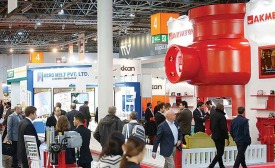 Valve World Expo Dusseldorf featured 725 exhibitors from 40 countries. Photo courtesy of Messe Dusseldorf